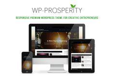 I just released WP-Prosperity on Creative Market.