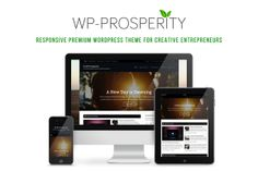 I just released WP-Prosperity on Creative Market.