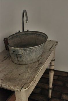 ... about Bucket Sink on Pinterest Sinks, Utility Sink and Barrel Sink