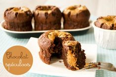 Cup Cake Coulant Chocolat