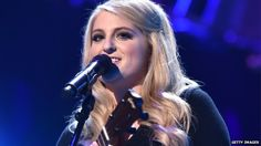 Meghan Trainor enters charts on streaming alone BBC 28th Sept 2014