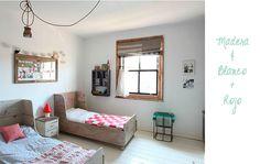 Habitación infantil compartida chico-chica   La Garbatella: blog de decoración, estilo nórdico.