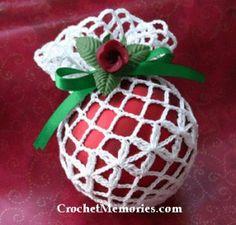 Diamond Ball Cover  PDF Source: http://bit.ly/1yEtpDD  #crochet #freepattern Please check http://on.fb.me/1ji00pE for more free patterns