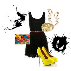 """""""Girl's Night outfit"""" by roxanne-taylor-1 on Polyvore"""