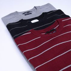 Tricolor Jumper by Warning Clothing