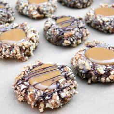 Insanely delicious Chocolate Turtle Cookies