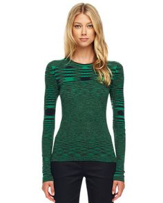 Something about that pattern... :)    Michael Kors Space-Dye Cashmere Sweater.