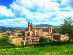 Urbino vista dalla fortezza