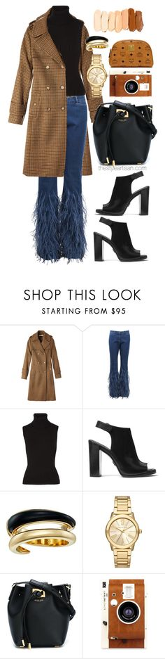 """Michael Kors"" by thestyleartisan ❤ liked on Polyvore featuring Michael Kors, LØMO and MCM"