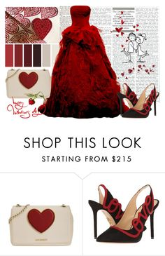 """""""Love Inspired Set"""" by sindhuja-coolgirl ❤ liked on Polyvore featuring Love Moschino, Charlotte Olympia, polyvorecommunity, polyvoreeditorial, polyvorefashion and polyvoreset"""