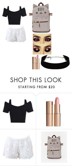 """Huh"" by lukehemmings54 ❤ liked on Polyvore featuring Charlotte Tilbury, Alexis, women's clothing, women, female, woman, misses and juniors"