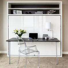 Bed-Desk Combos Save Space And Add Interest To Small Rooms | Adam Tavolo Design