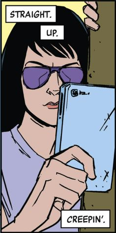 pikachuears:  Kate Bishop. Straight. Up. Creepin'.