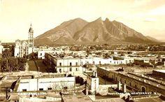 Monterrey en la década de 1930.