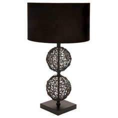 Paige Rattan Table Lamp