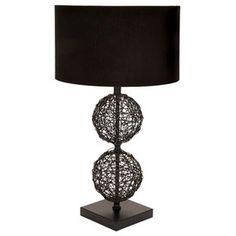 Paige Rattan Table Lamp