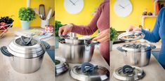 Stackable Stewpots for Optimal Space Saving | Yanko Design