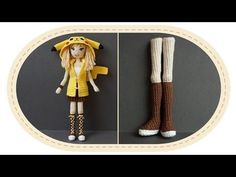 Каркасная кукла крючком, часть 1 (Ноги, часть 1). DIY Crochet doll, part 1 (legs, part 1). - YouTube