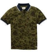 The Camo Printed Mesh Polo