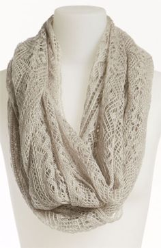 BP. Pointelle Infinity Scarf | Nordstrom  $20.00 - might need to get this:)