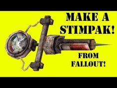 How to Make a Fallout Stimpak (DIY) - YouTube