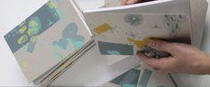 Carnets de chutes, carnets issus du recyclage des feuilles de tests d'impression, Bêo design