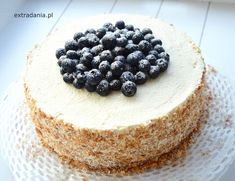 tort borowkowy z mascarpone