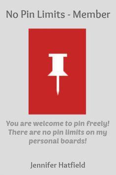 No Pin Limits - Member:Jennifer Hatfield - Visit profile here: http://www.pinterest.com/hatfiej6