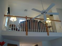 Ceiling Fan and Loft