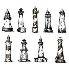 Image result for light house draw tumblr