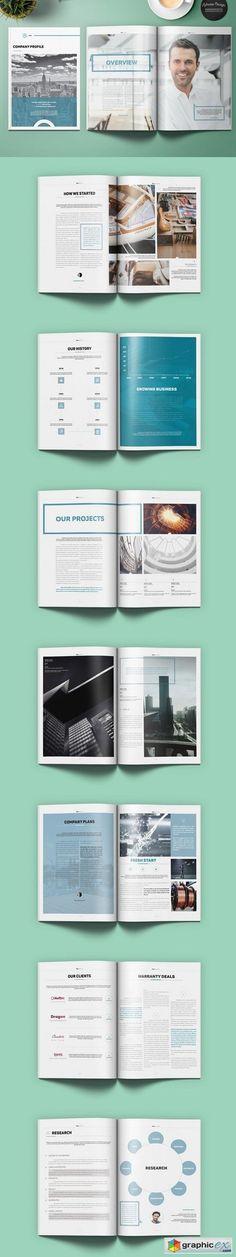 Company Profile Template Business Profile Pinterest Company - business profile template