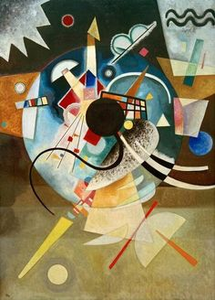 "Wassily, Vassily Kandinsky - Abstract Art - ""A Center"", 1924 Art Kandinsky, Wassily Kandinsky Paintings, Abstract Expressionism, Abstract Art, Abstract Landscape, Art Conceptual, Russian Art, Henri Matisse, Art And Architecture"