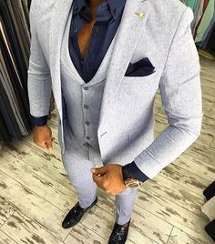 Friday Style Tip - Photo: @gentlemenslounge #suitstyle # #mensfashion #