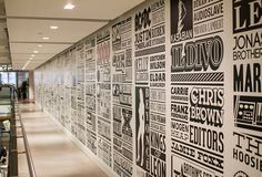 Sony celebrates with giant typography   Typography   Creative Bloq  This would be awesome in a house!