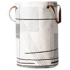 Ferm Living's Trace laundry basket