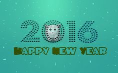 2016 Happy New Year Wallpaper 3