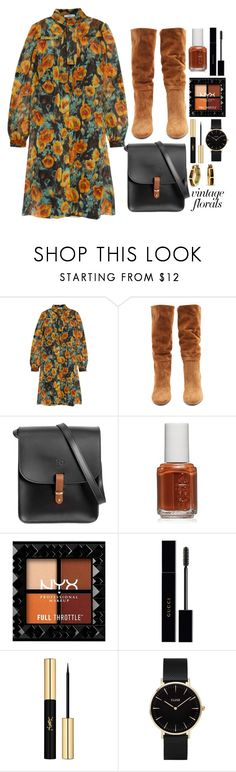 """Untitled #330"" by elencool04 ❤ liked on Polyvore featuring Prada, Samuele Failli, N'Damus, Essie, Gucci, Yves Saint Laurent, CLUSE and Bling Jewelry"