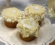 Cupcake Molds - victorian Gardens Cupcake Molds from Katy Sue Designs - from CHA Winter 2013 show on Keep Calm and Craft On   - good wedding cupcake idea #cupcake