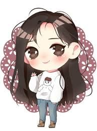 Chibi Bunny Girl Black Hair Recherche Google