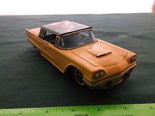 Vintage Bandai FORD THUNDERBIRD 1958 VINTAGE TIN FRICTION TOY CAR JAPAN Item 701