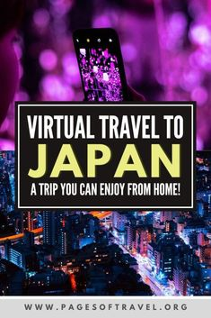 Looking for a fun travel quarantine activity? Take a virtual vacation to Japan! In this virtual Japan trip you can explore the highlights of famous cities such as Tokyo, Osaka, Kyoto, and the Fuji Five Lakes Area all from the comfort of your home. Japan Travel Guide, Asia Travel, Fun Travel, Travel Books, Travel Journals, Travel Abroad, Ireland Vacation, Ireland Travel, Galway Ireland