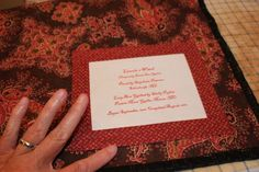 Finishing Your Binding and Making/Attaching a Quilt Label
