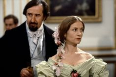 Isabelle Huppert at the ball, as Madame Bovary with her husband Jean-François Balmer	 ...	Le docteur Charles Bovary - Chabrol - 1991