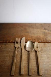 Nickle bronze cutlery set