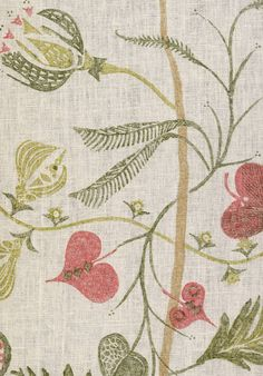 Floreat, Campion - Lewis & Wood linen print