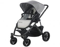 UPPAbaby Vista Stroller  The vista is a single, double and triple-stroller combined in one superbly practical form of transport for up to three children. #babygifts #babyshower #babygear #babyseats #diapers #nursery #strollers