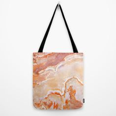 47846a78f379 Peach Onyx Marble tote bag by Patterns And Textures Marble Bag, Onyx  Marble, Digital