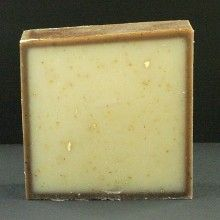 Vanilla Oatmeal. This classic fragrance is combined with oatmeal flakes that nourish your skin; gently removing dry patches and providing the relief you want. Each bar weighs about 5 ounces. $5.00.   http://www.sandlappersoaps.com/vanilla-oatmeal-a-vanilla-scented-soap/#.UOyyy2_aJlw
