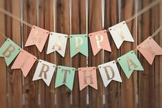 Your marketplace to buy and sell handmade items. - This offer is for a heart shaped peach, mint and cream Happy Birthday banner with gold glitter lett - Diy Party Banner, Diy Birthday Banner, Cake Banner, Diy Birthday Decorations, Gold Birthday, Happy Birthday Banners, Happy 20th Birthday, Glitter Letters, Gold Glitter