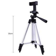 "Professional Foldable Camera Tripod Holder Stand 1/4"" Screw 360 Degree Fluid Head Tripod Stabilizer Aluminum with Phone Holder  Price: 21.99 & FREE Shipping #computers #shopping #electronics #home #garden #LED #mobiles #rc #security #toys #bargain #coolstuff 